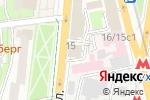 Схема проезда до компании Language Profi в Москве