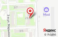Схема проезда до компании Торгдом в Москве