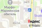Схема проезда до компании Aspera в Москве