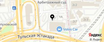 Volvo Car Тульская на карте Москвы
