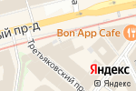 Схема проезда до компании Ferrari в Москве