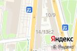 Схема проезда до компании HP-Center в Москве