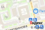 Схема проезда до компании Таймер в Туле