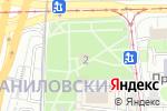 Схема проезда до компании Часовня Данилово Монастыря у Даниловской Заставы в Москве