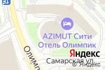 Схема проезда до компании Le`Thai в Москве