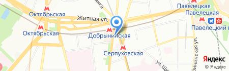 Budweiser Budvar на карте Москвы