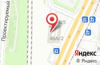 Схема проезда до компании Иналэт в Москве
