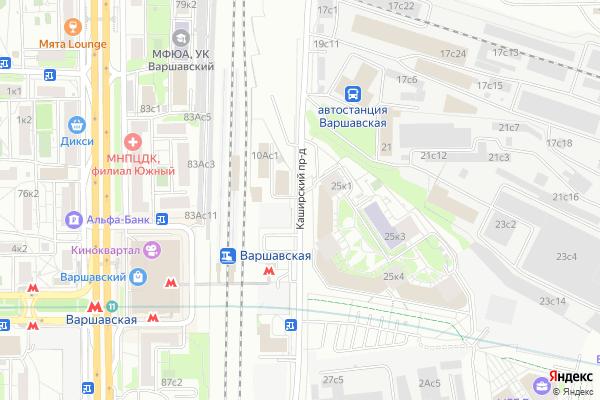 Ремонт телевизоров Каширский проезд на яндекс карте