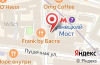 Схема проезда до компании Издательский Дом Интервью в Москве