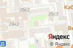 Схема проезда до компании ОМ Тур в Москве
