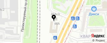 Автодикс на карте Москвы