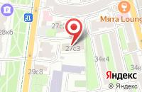 Схема проезда до компании Пин Арт в Москве