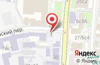 Схема проезда до компании Декстер в Москве