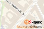 Схема проезда до компании Elisabetta Franchi в Москве
