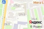 Схема проезда до компании Всероссийский союз страховщиков в Москве
