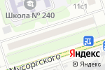 Схема проезда до компании Хайтек Сервис в Москве