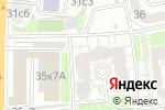 Схема проезда до компании Территориальный отдел квотирования рабочих мест в Москве