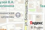 Схема проезда до компании Храм Святой Великомученицы Екатерины на Всполье в Москве