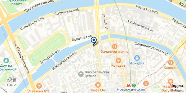ПРЕДСТАВИТЕЛЬСТВО В МОСКВЕ CUBECAPITAL UK LTD. на карте Москве