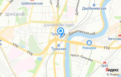 Местоположение на карте пункта техосмотра по адресу г Москва, пер Холодильный, д 6