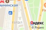 Схема проезда до компании Эдас Холдинг в Москве