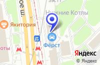 Схема проезда до компании ПТФ МАСК-Н в Москве