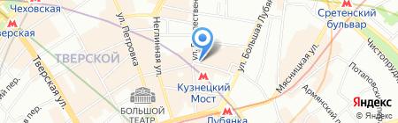 Банкомат АКБ Банк Москвы на карте Москвы