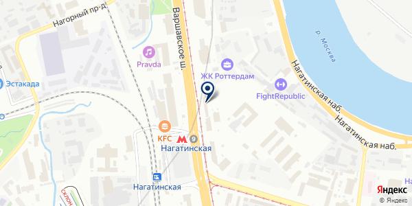 МТС на карте Москве