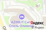 Схема проезда до компании ФАНДС АУДИТ в Москве