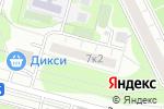 Схема проезда до компании Южное Чертаново в Москве