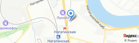 Окна Эконом на карте Москвы