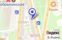 Схема проезда до компании ТФ ВЕСТНИК в Москве