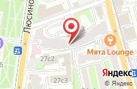 Схема проезда до компании Саундс Лайф в Москве
