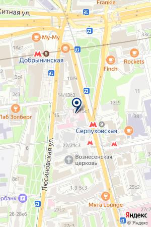 ПТФ ГОЙТЕБРЮК ГМБХ на карте Серпухова