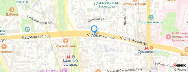 Садовая-Сухаревская улица