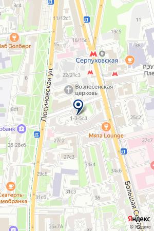 АУДИТОРСКАЯ КОМПАНИЯ ОВАКС на карте Серпухова