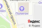 Схема проезда до компании Геберит в Москве