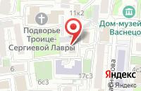 Схема проезда до компании Дисполэнд в Москве