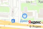 Схема проезда до компании Торговый Дом Рамзай в Москве