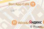Схема проезда до компании Baccarat в Москве