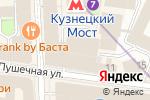 Схема проезда до компании Бизнес леди в Москве
