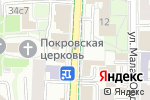 Схема проезда до компании EDF School в Москве