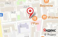 Схема проезда до компании Треугольное Солнце в Москве