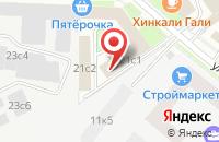 Схема проезда до компании Буква - М10 в Москве