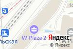 Схема проезда до компании Мернис Недвижимость в Москве
