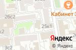 Схема проезда до компании Just design в Москве