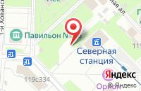 Схема проезда до компании Эксклюзив в Москве