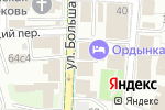 Схема проезда до компании Планета в Москве