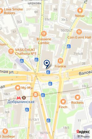 ТУРИСТИЧЕСКАЯ ФИРМА БАГИРА на карте Серпухова