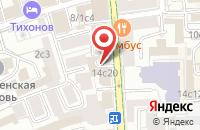 Схема проезда до компании Восход-Принт в Москве